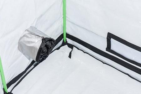 White Inlay Tent Floor