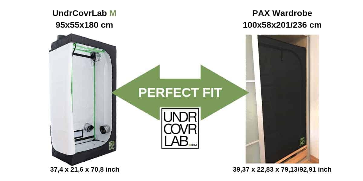 Ikea Grow Tent - PAX - UndrCovrLab M