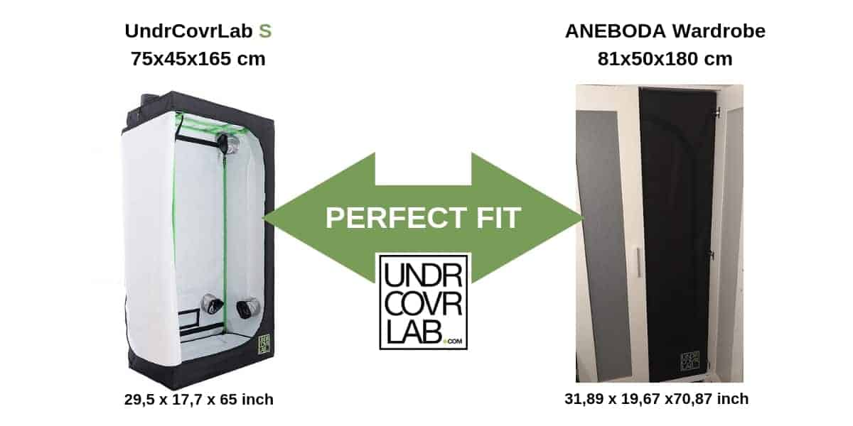 IKEA Grow Tent -Aneboda - UndrCovrLab S