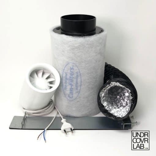Abluftset Aktivkohlefilter Can-Lite 150