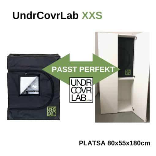 Stealth Grow in PLATSA IKEA mit UndrCovrLab XXS