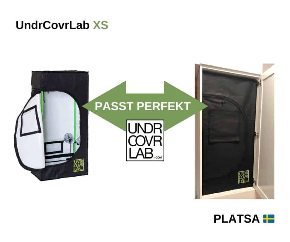 UndrCovrLab XS im Platsa 60x40x120cm