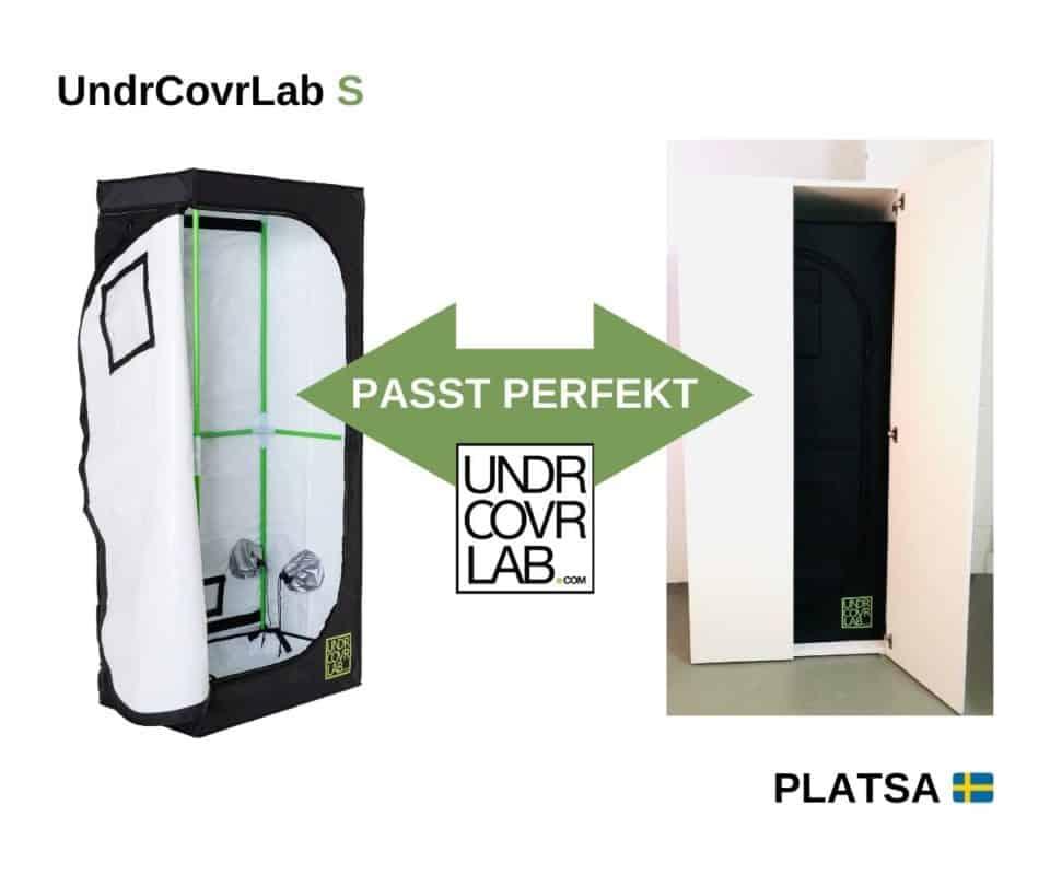 Stealth Grow Deutschland mit IKEA Platsa