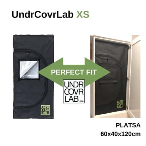 Mini Stealth Grow Box - Grow Tent 55x32x115cm