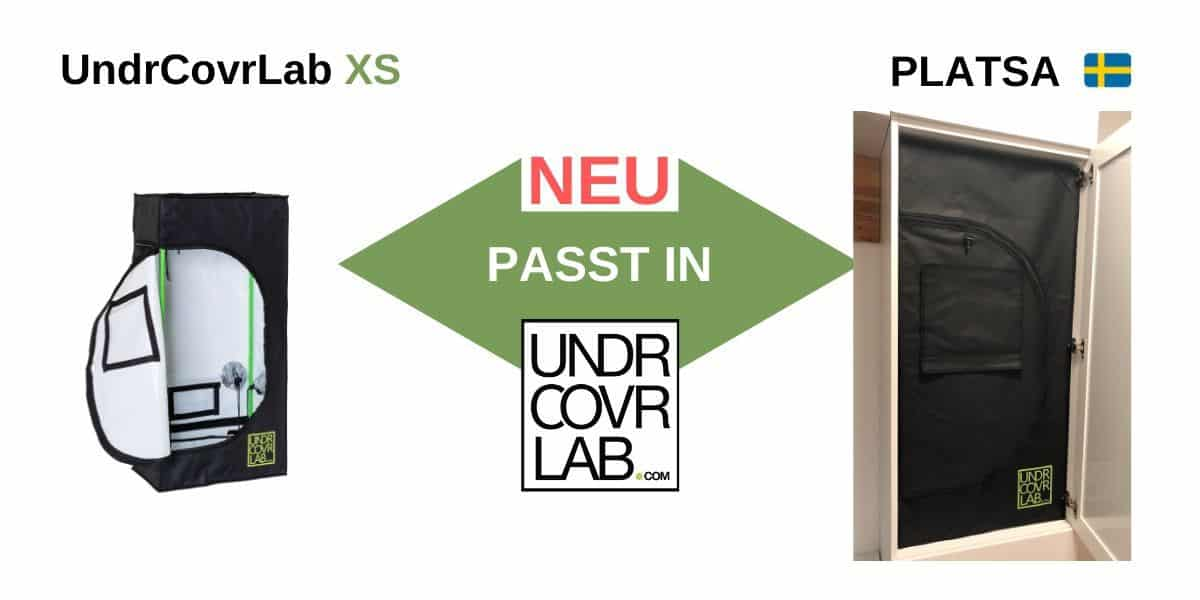 UndrCovrLab XS Stealth Grow in Platsa